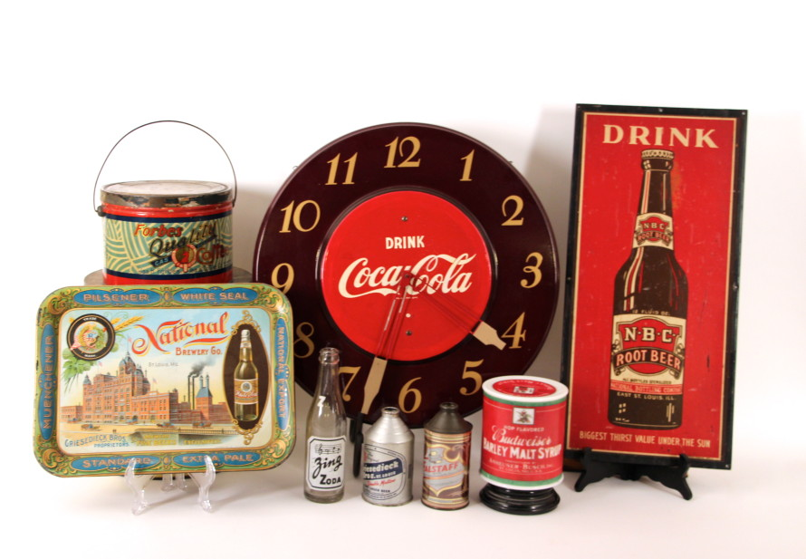 Vintage Advertising Collectibles