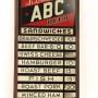 St. Louis ABC Beer Reverse on Glass Menu Board