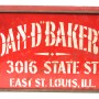 Dan D. Bakery Metal Biscuit Box
