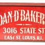 Dan D. Bakery Metal Biscuit Box
