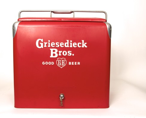 Griesedieck Bros, Metal Cooler