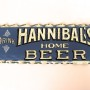 Hannibal Home Beer Reverse on Glass Sign