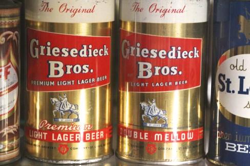 Griesedieck Bros, Flat Top Beer Cans