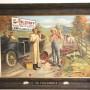 Wm. J Lemp Brewing Co, Self Framed Tin Sign, Peacemaker, St. Louis, MO