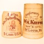 Burton Ale & Porter Brewing Co, Wm Kiefer Saloon Stoneware Mug, St. Louis, MO