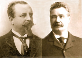 Adolphus Busch & Anthony Faust