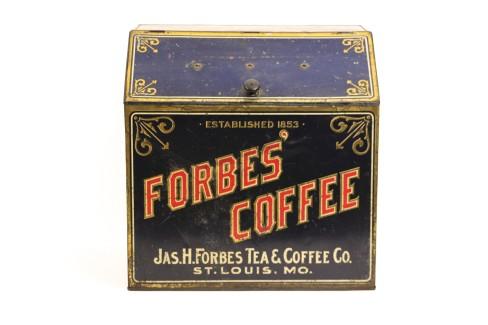 Forbes Coffee General Store Metal Bin