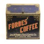 Forbes Coffee General Store Metal Bin