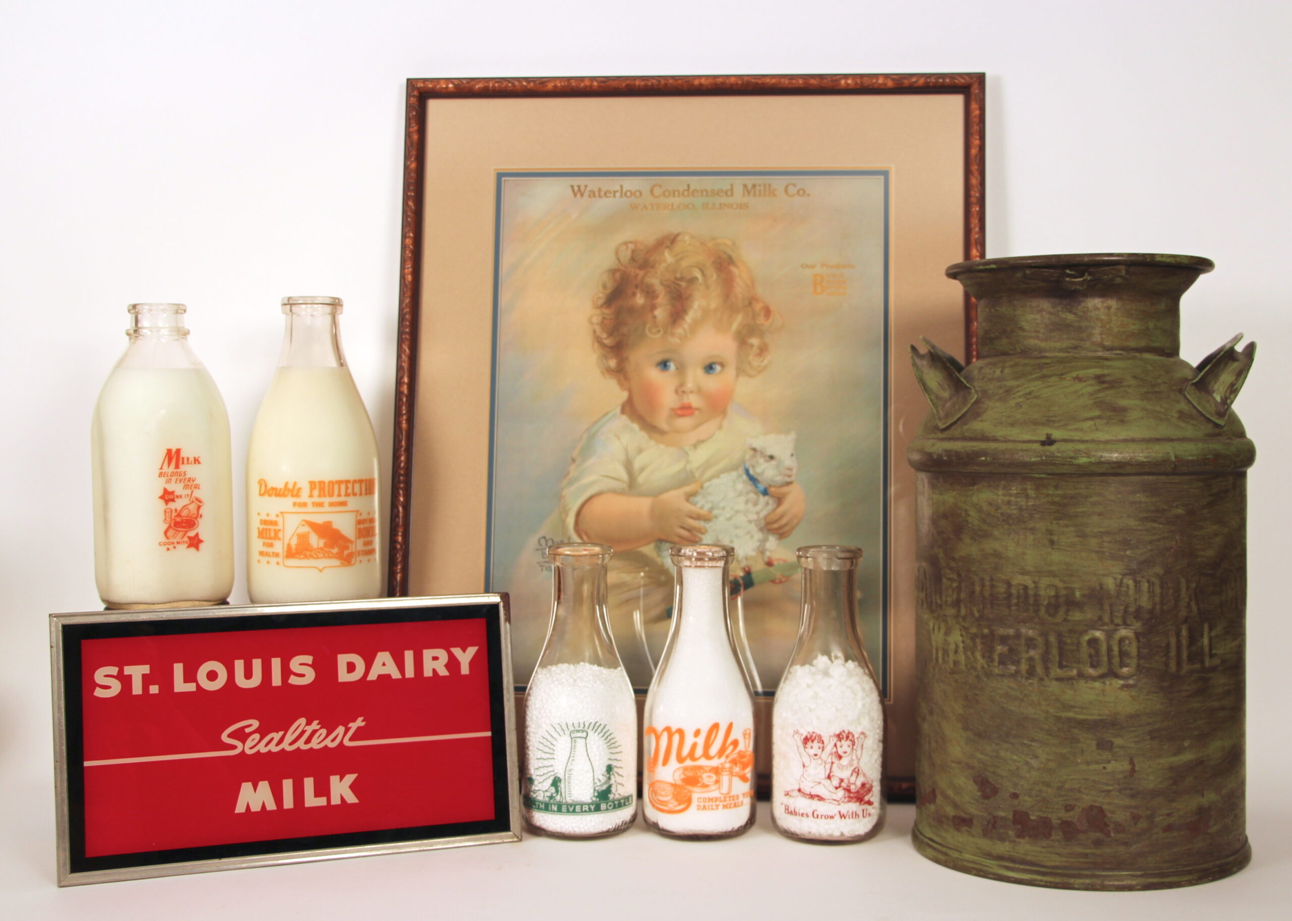 The Antique Advertising Expert | Dairy Collectibles - The ...