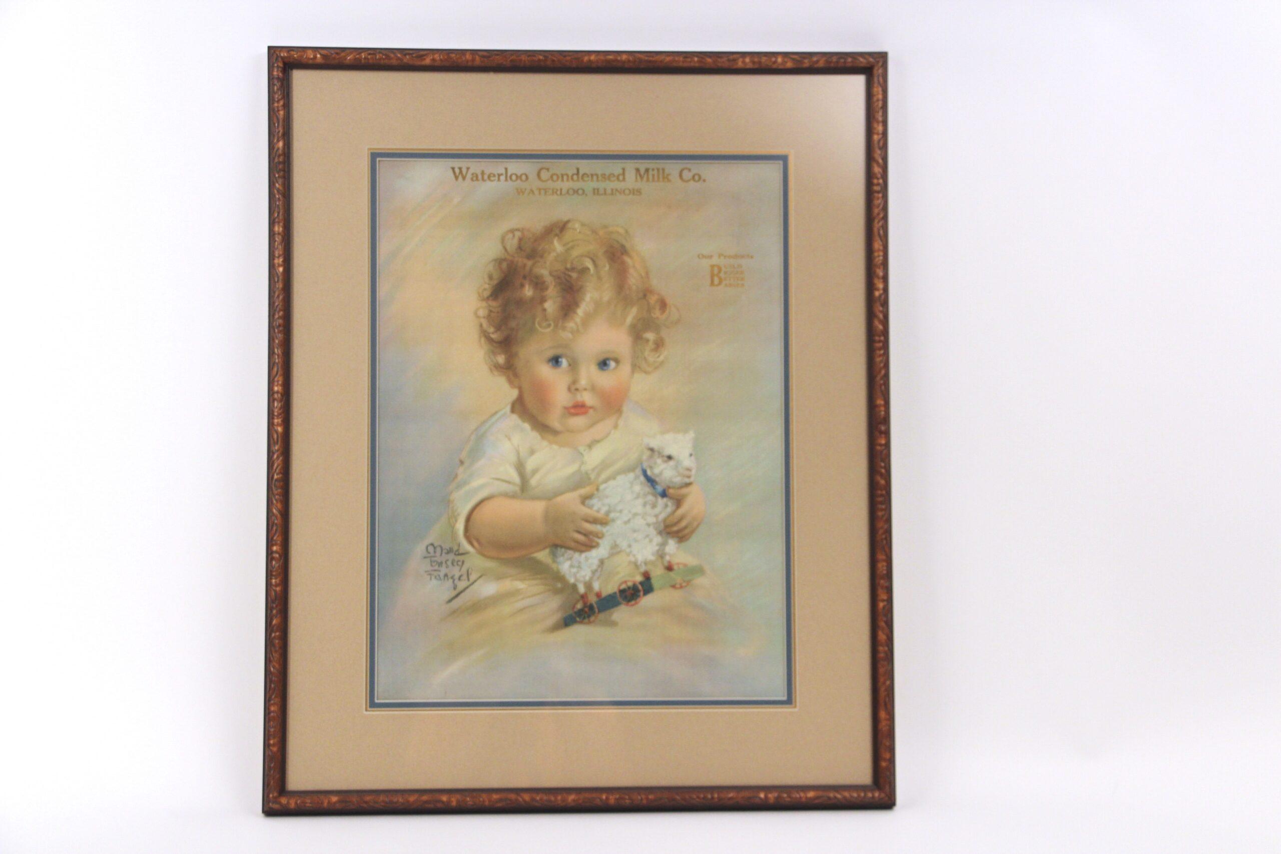 Waterloo IL Milk Company, Paper Lithograph