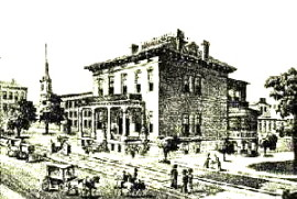 The Lemp Mansion in 1892