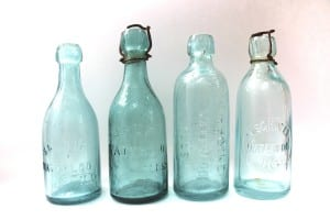 1800's Soda Bottles - Hutchinson and Blob Top Styles
