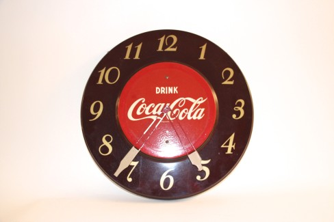 Coca-Cola Soda Advertising Clock, Atlanta, GA