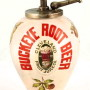 Buckeye Root Beer Syrup Dispenser, Cleveland Fruit Juice Co., Ceramic