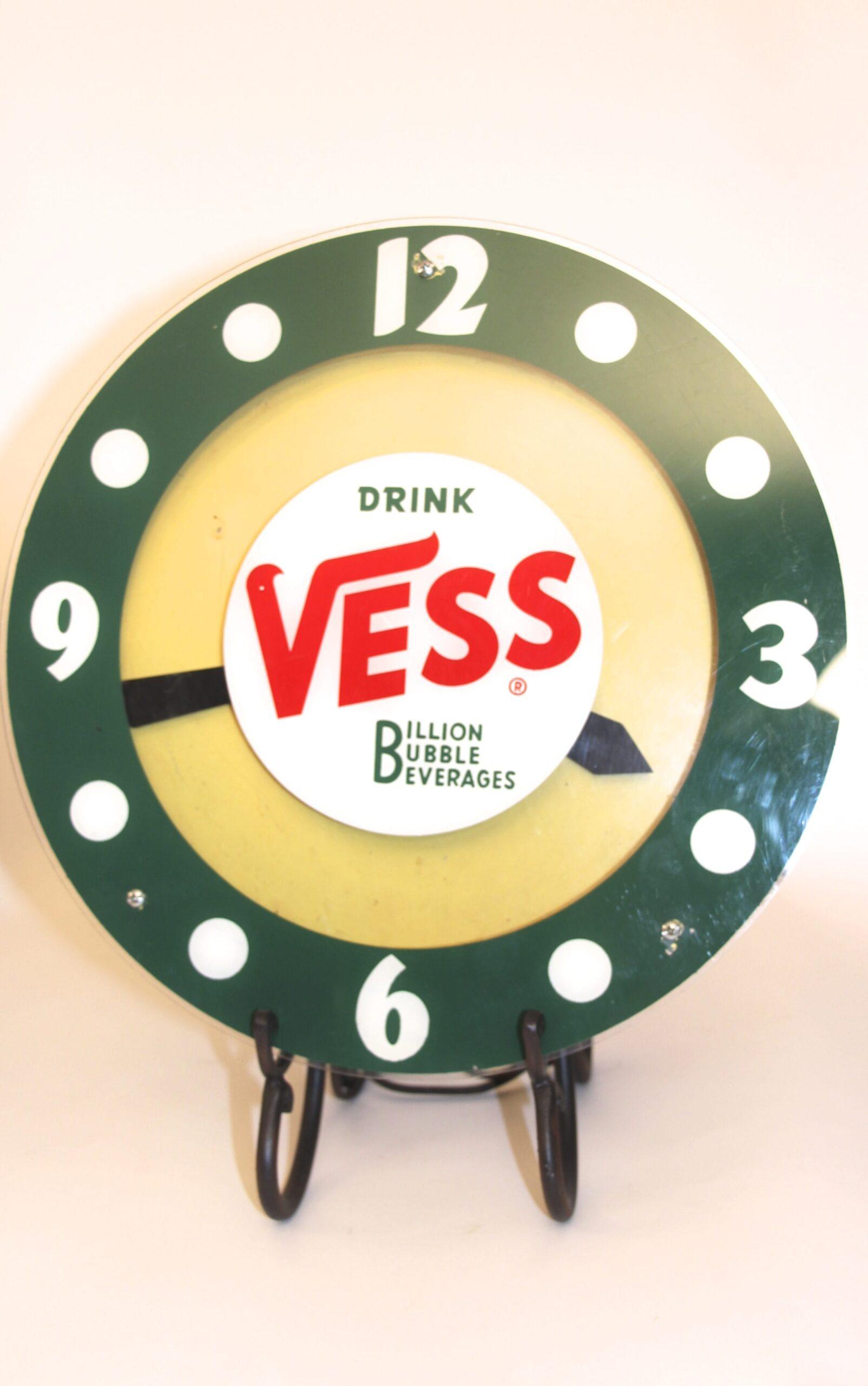 Vess Soda Clock 1950