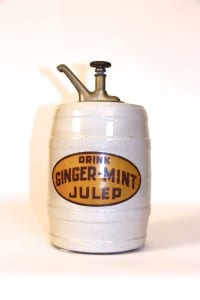 1910's Emerson Drug. Co.'s Ginger-Mint Julep Syrup Dispenser