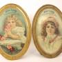 Henry Luebbe Self-Framed Tin Signs 1900