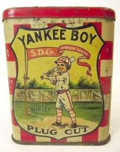 1917 Tobacco Yankee Boy Pocket Tin
