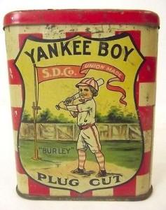 1917 Tobacco Yankee Boy Pocket Tin