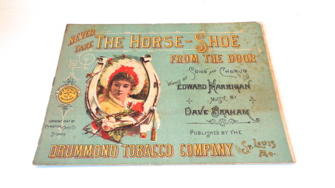 Drummond Tobacco Co Advertising Booklet