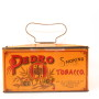 Pedro Lunch Pail Tobacco Tin
