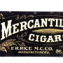 Mercantile Cigar Sign, Rice Tobacco Co.