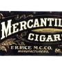 Mercantile Cigar Sign, Rice Tobacco Co.