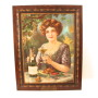 American Wine Co, Self Framed Tin Sign, St. Louis, MO
