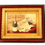 American Wine Co, Cook's Champagne, Self Framed Wood Sign