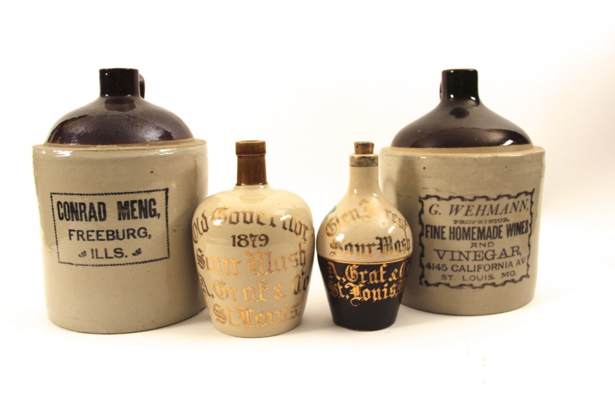 Whiskey Stoneware Collectibles