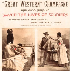 1870's Wine Ad Claimed it Saved Lives