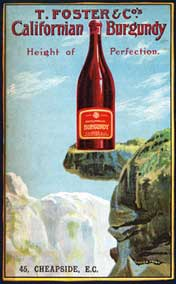 1906 Foster & Co. Wine Print Ad