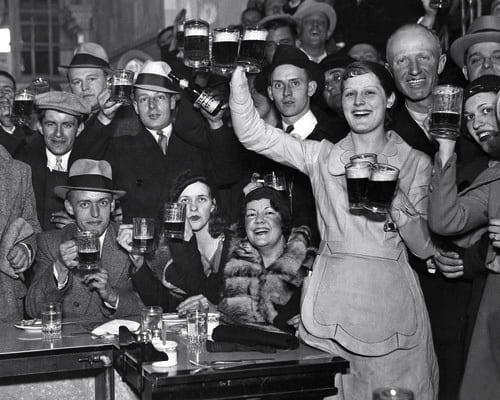 Prohibition Ended December 5, 1933