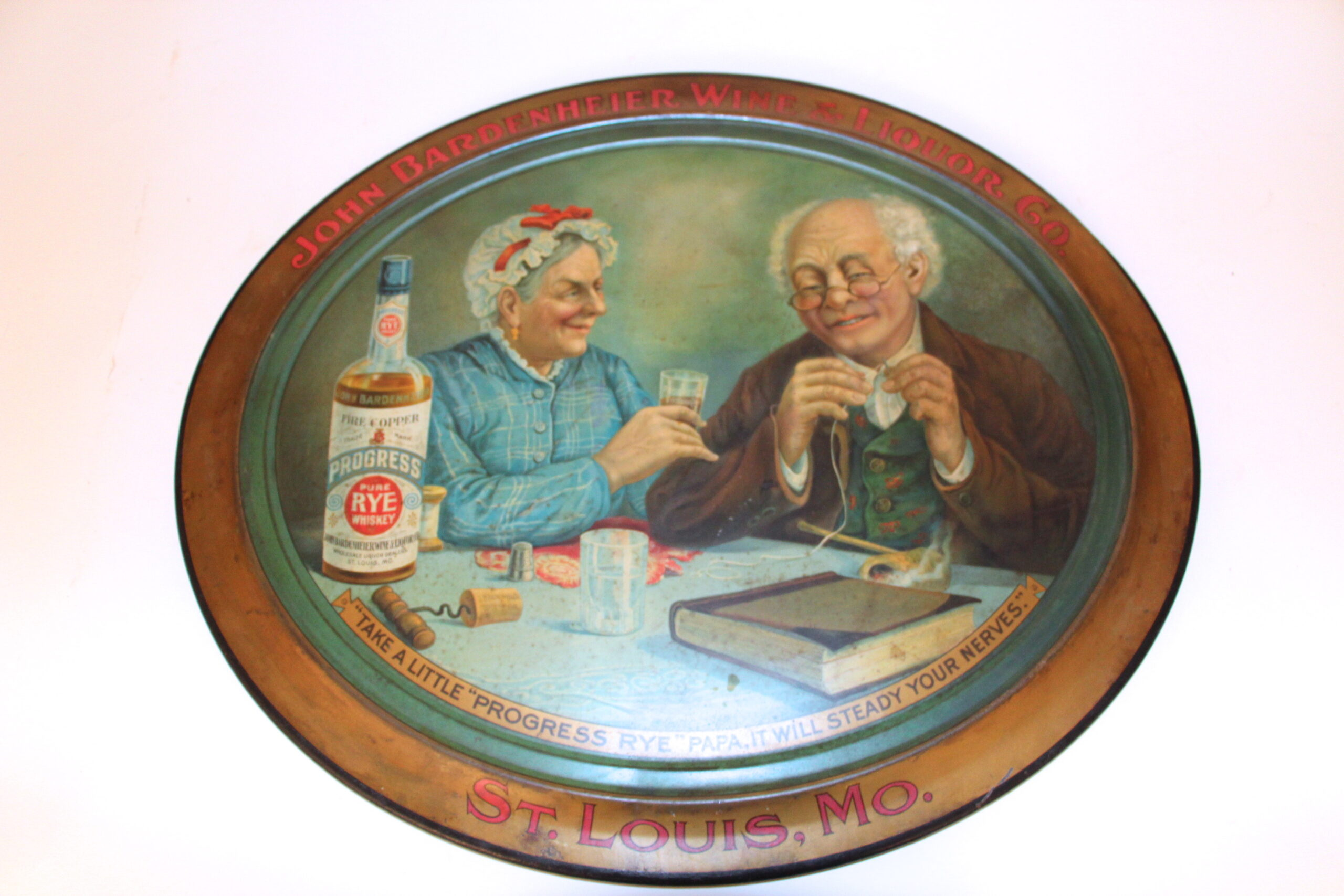 John Bardenheier Wine & Liquor Co. Self-Framed Sign