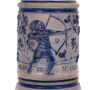 Cherokee Brewery Salt-Glazed Beer Stein 1890 St. Louis, MO