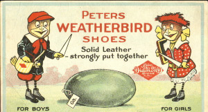 Weatherbird Shoes Mascot 1901-1932