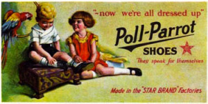 Poll Parrot Shoes Magazine Ad