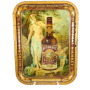 Autocrat Whiskey Serving Tray, Edwin Schiele Distilling Co, St. Louis, MO, 1910