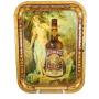 Autocrat Whiskey Serving Tray, Edwin Schiele Distilling Co, St. Louis, MO, 1910