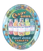 Fruit Juice Tablets Tray, Candy Bros. Mfg., St. Louis, MO 1902