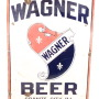 Wagner Brewery Beer Granite City, IL Porcelain Sign 1935