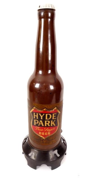 Hyde Park Beer Bottle AM Radio 1940s