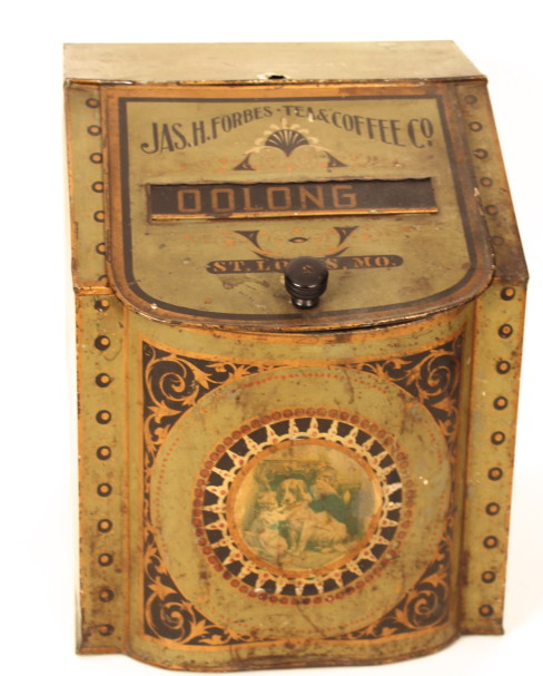 Jas. H. Forbes Tea & Coffee Co. Store Bin, St. Louis, MO 1905