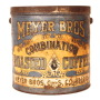 Meyer Bros. Coffee Tin 1910