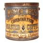 Meyer Bros. Coffee Tin 1910