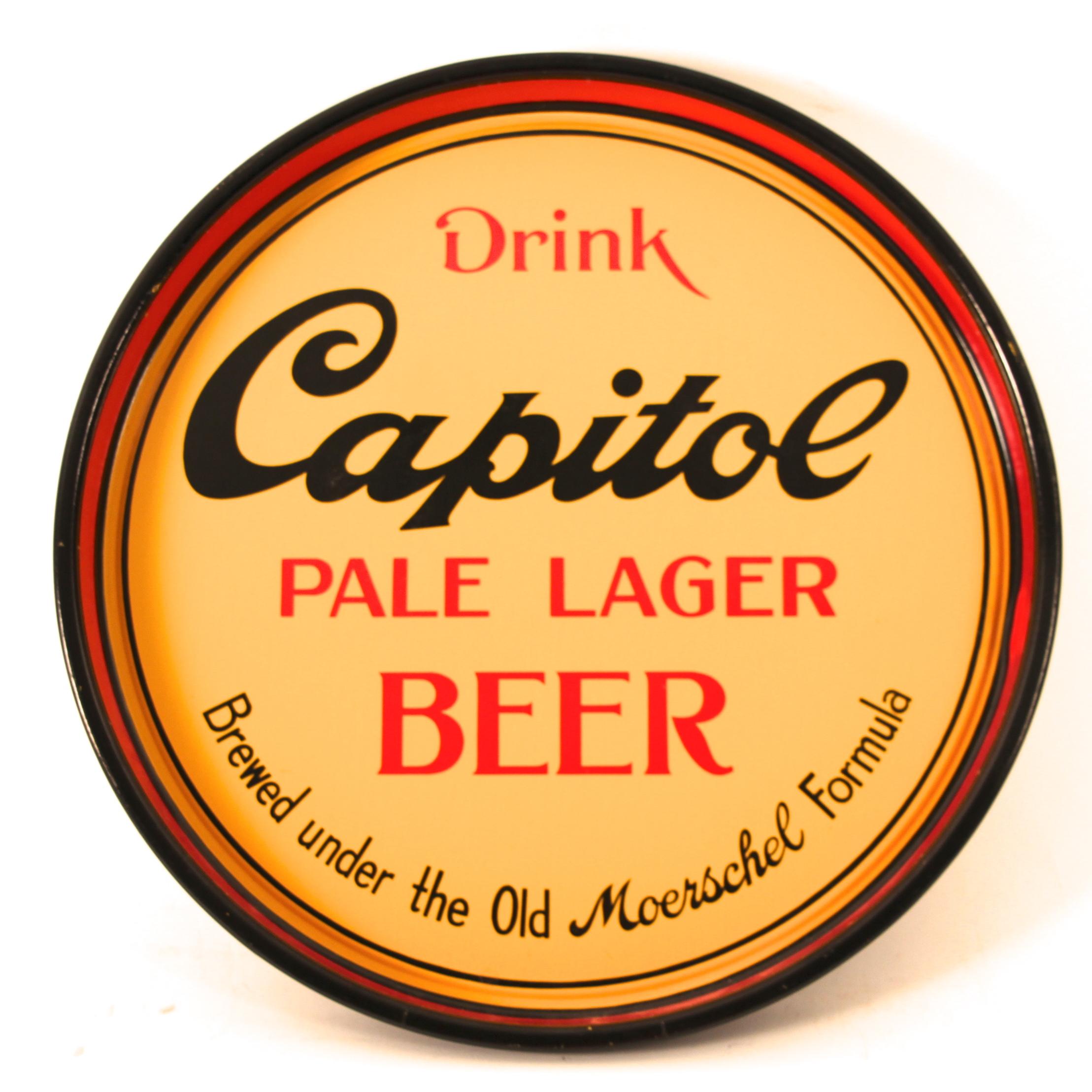 Capital Lager Beer, Moerschel Brewing Co., Jefferson City, MO. Circa 1930s