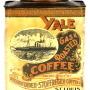 Yale Gas Roasted Coffee, Steinwender-Stoffregen Coffee Co., St. Louis, MO. Circa 1900