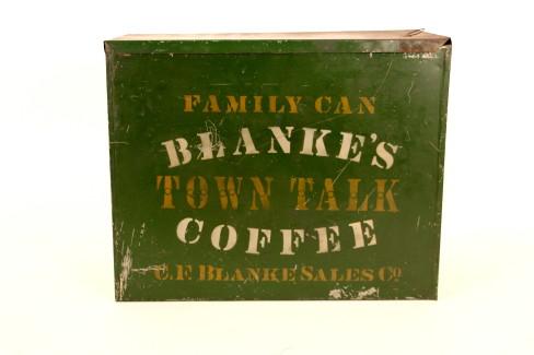 Blanke's Town Talk Coffee, C. F. Blanke Coffee Co., St. Louis, MO
