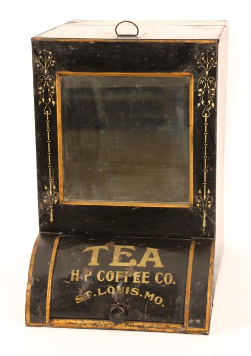 Tea General Store Bin H.P. Coffee Co. 1905