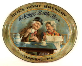Heil's Home Brewery Erlanger Beer Tray 1903
